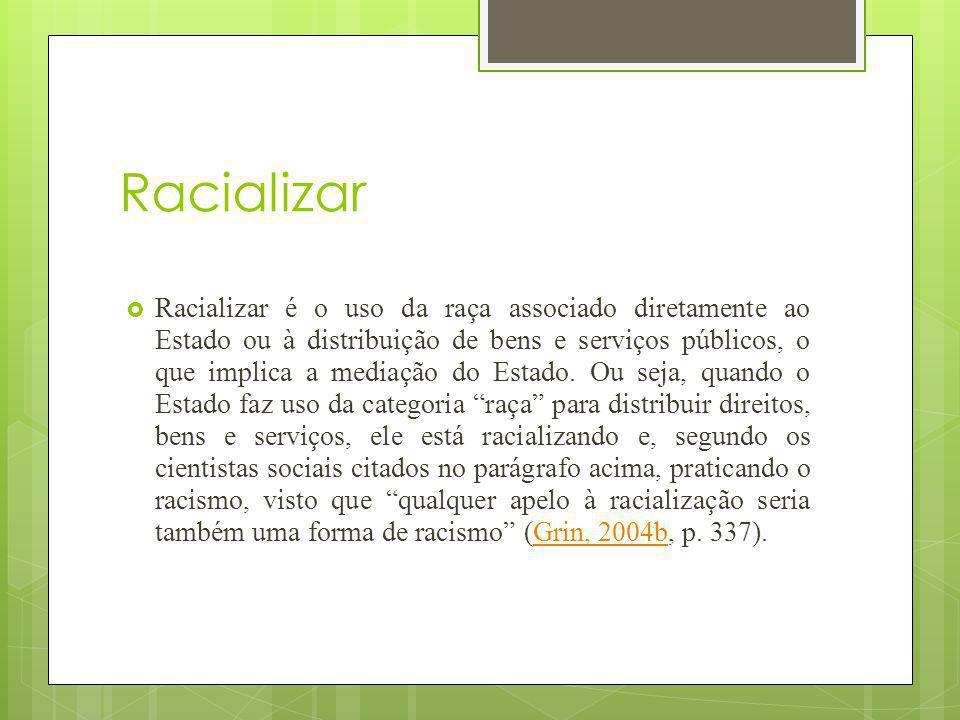 Racializar