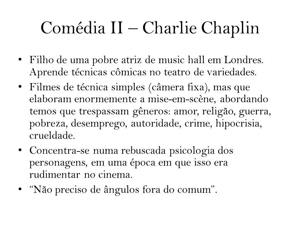 Comédia II – Charlie Chaplin