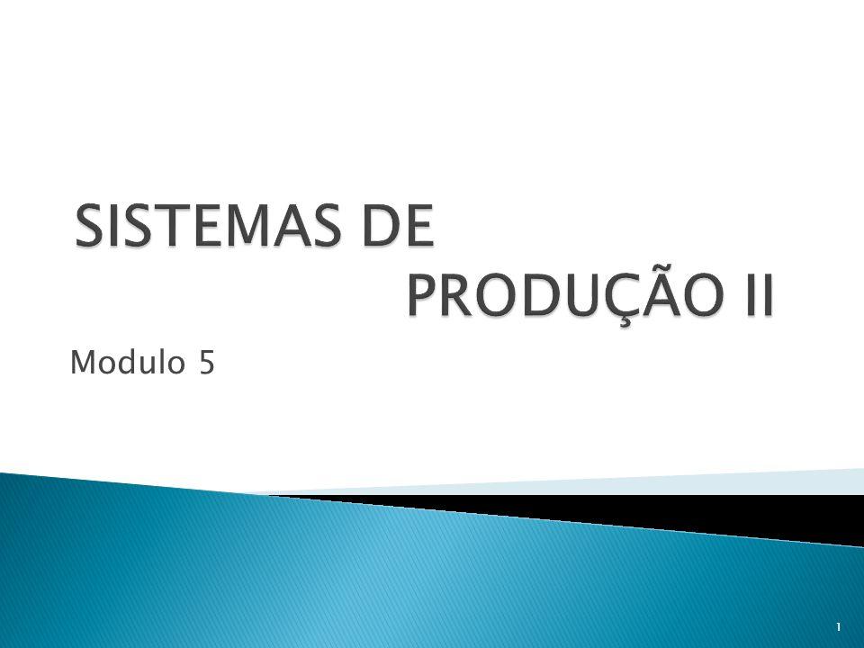 SISTEMAS DE PRODUÇÃO II