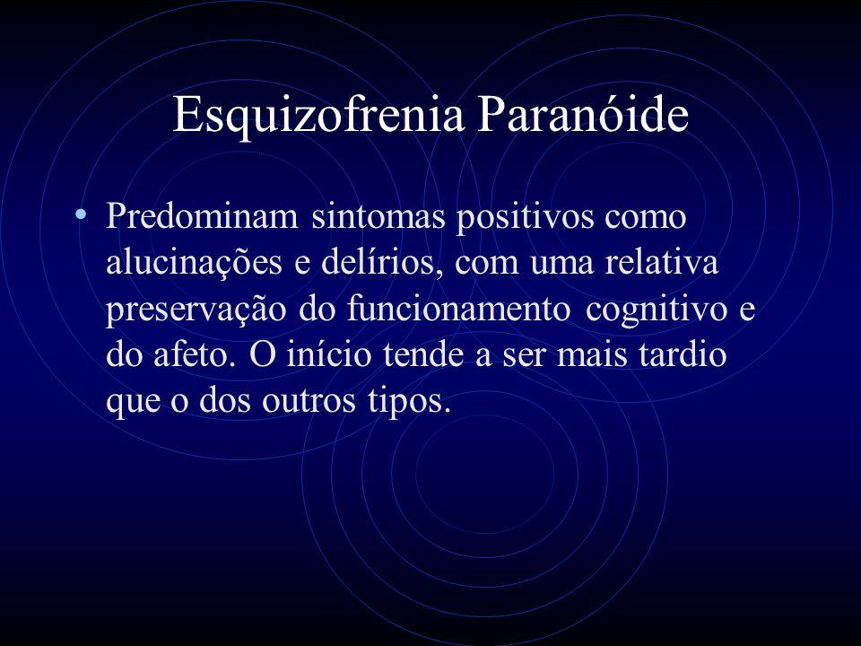 Esquizofrenia Paranóide