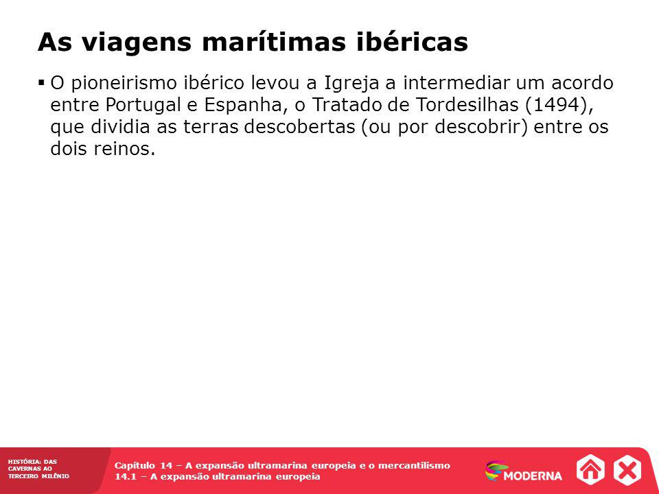 As viagens marítimas ibéricas