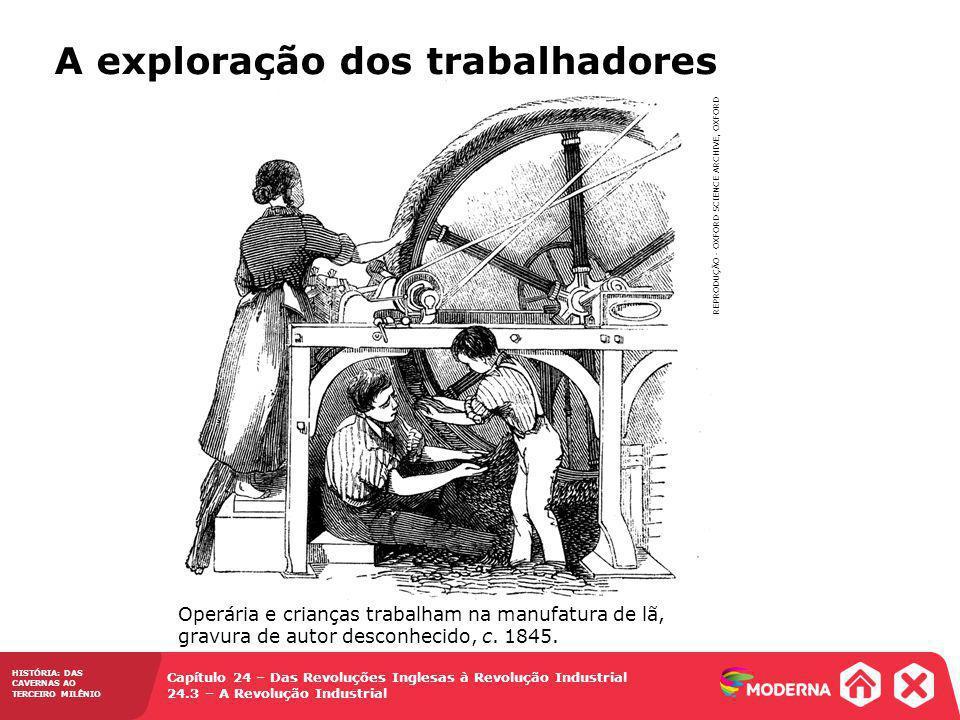 A exploração dos trabalhadores