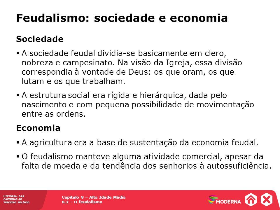 Feudalismo: sociedade e economia