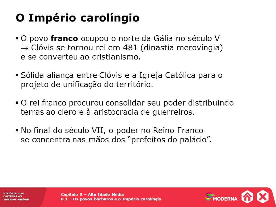 O Império carolíngio