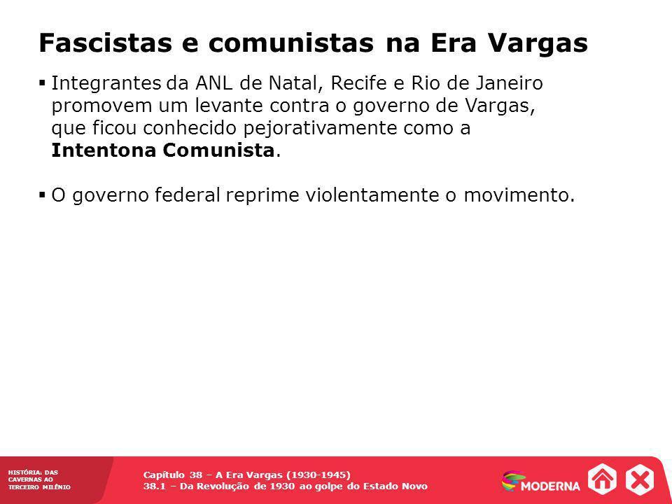 Fascistas e comunistas na Era Vargas