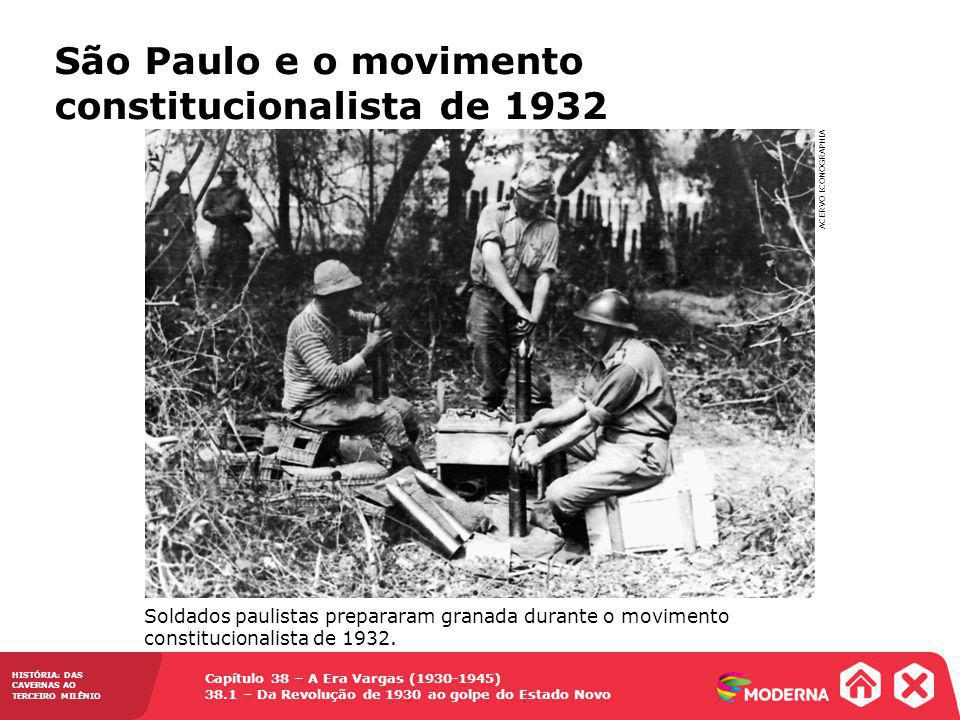 São Paulo e o movimento constitucionalista de 1932