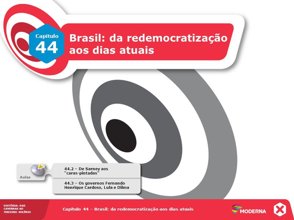 44 Brasil: da redemocratização aos dias atuais Capítulo