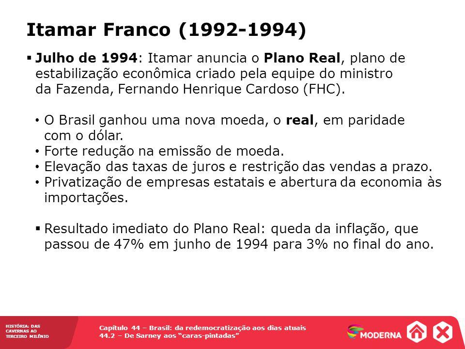 Itamar Franco (1992-1994)