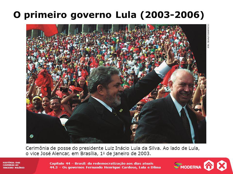 O primeiro governo Lula (2003-2006)