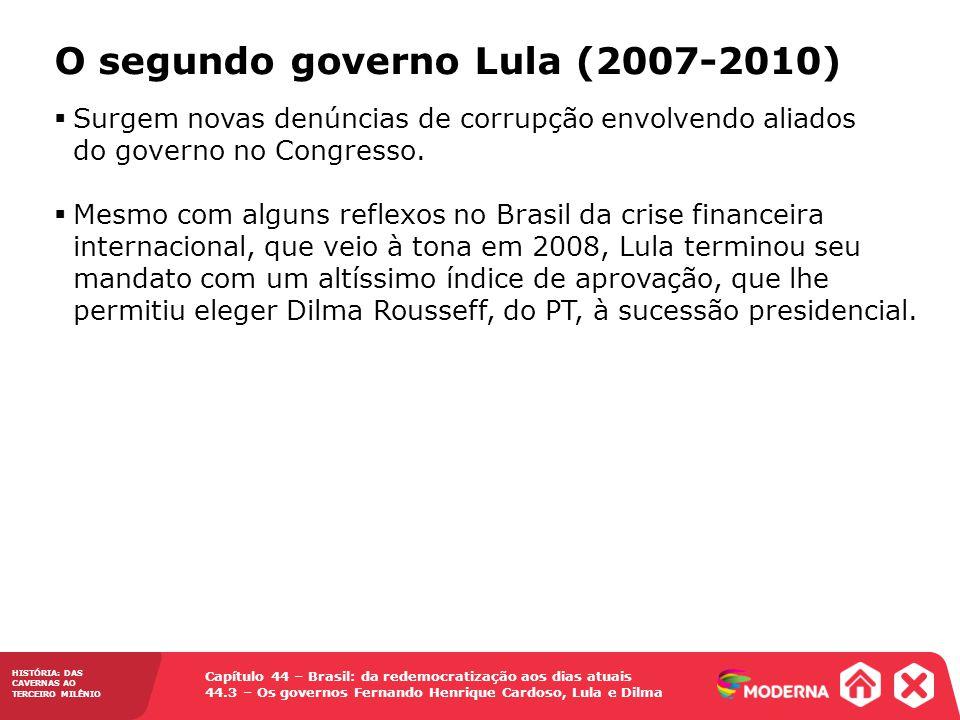 O segundo governo Lula (2007-2010)