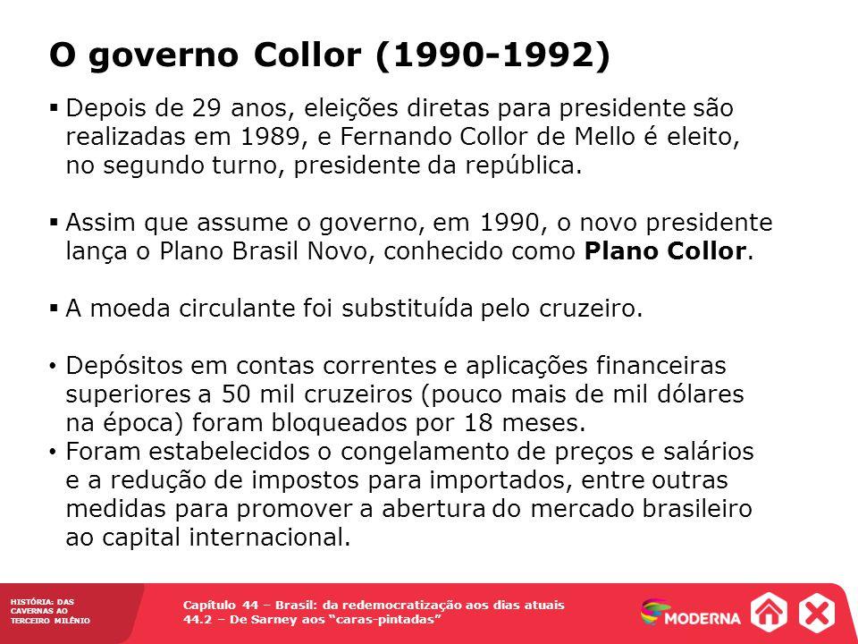 O governo Collor (1990-1992)