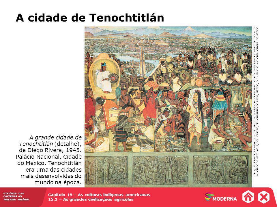 A cidade de Tenochtitlán