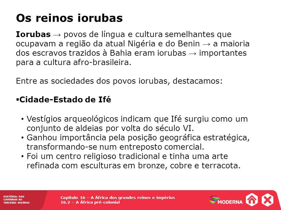 Os reinos iorubas