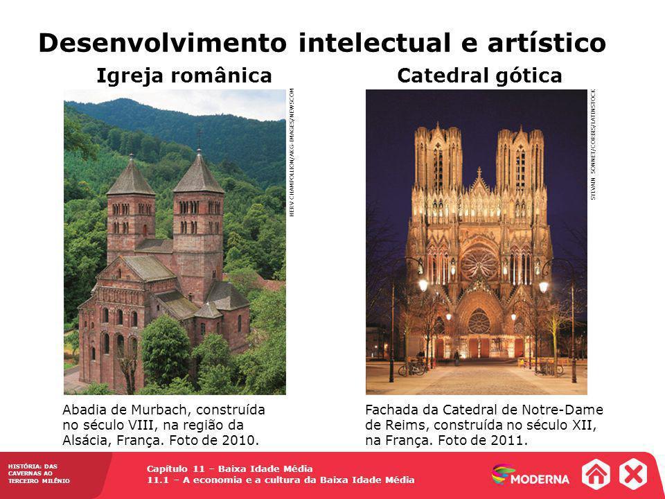 Desenvolvimento intelectual e artístico