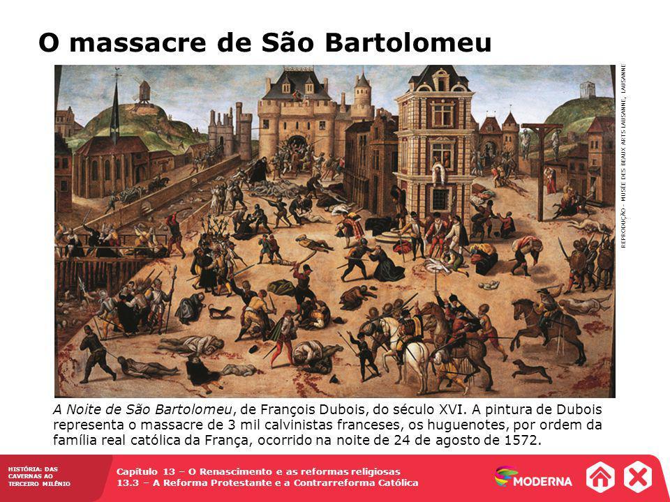 O massacre de São Bartolomeu