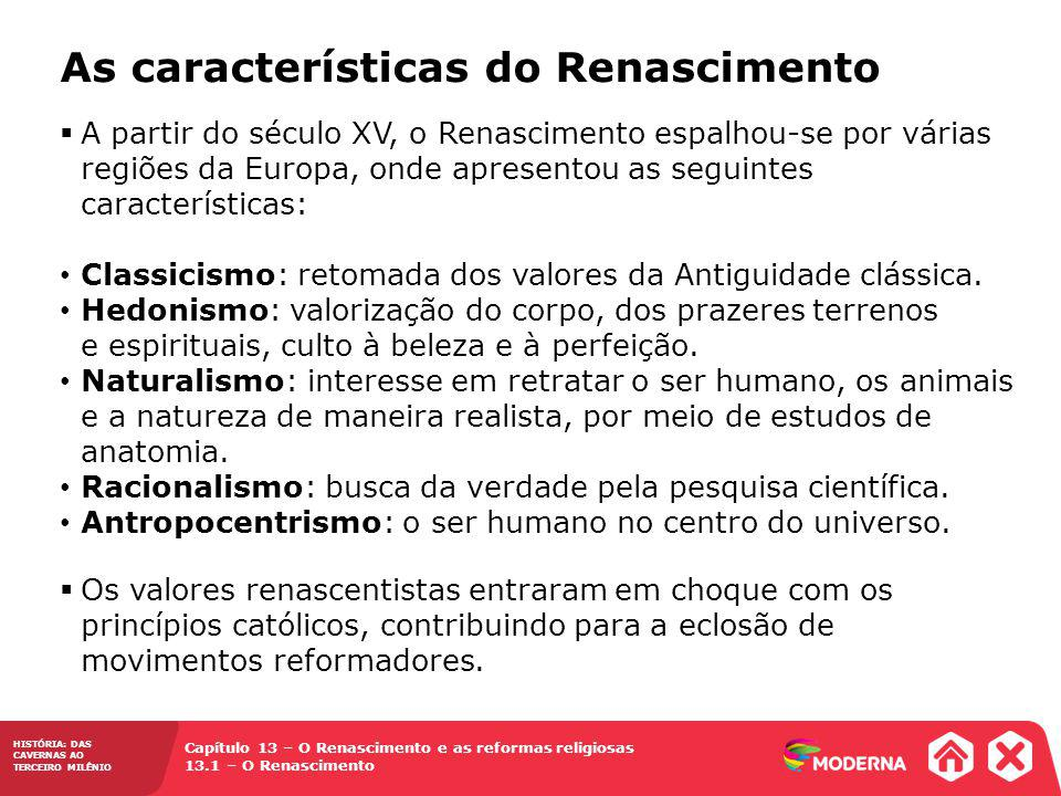 As características do Renascimento
