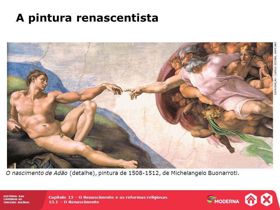 A pintura renascentista