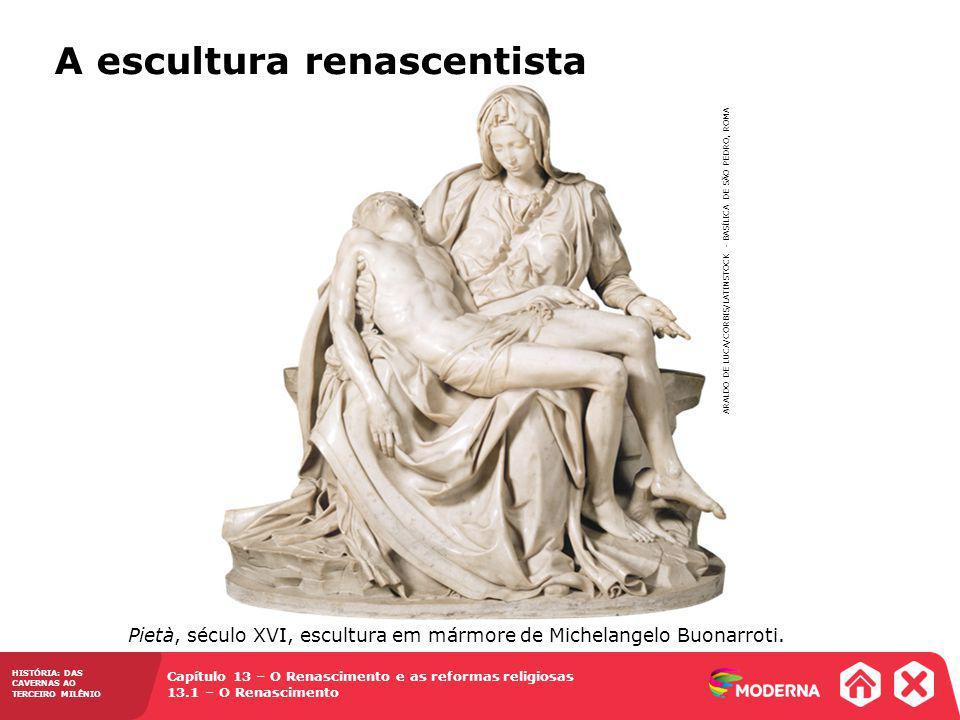 A escultura renascentista