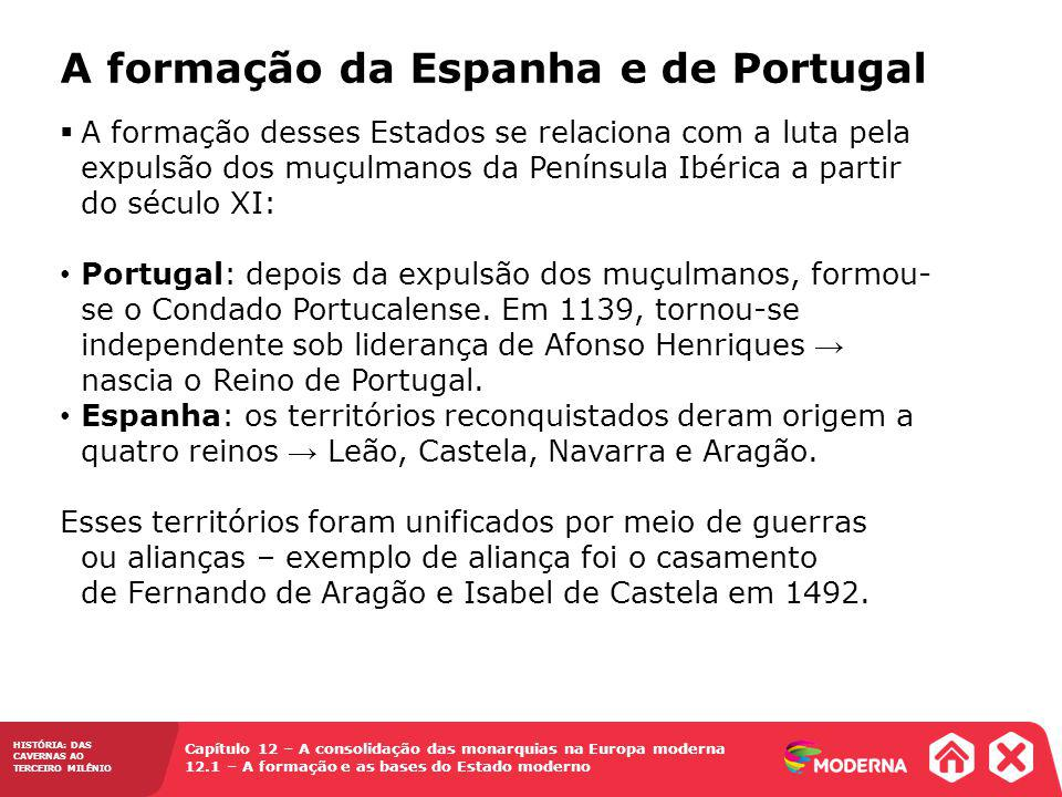 A formação da Espanha e de Portugal