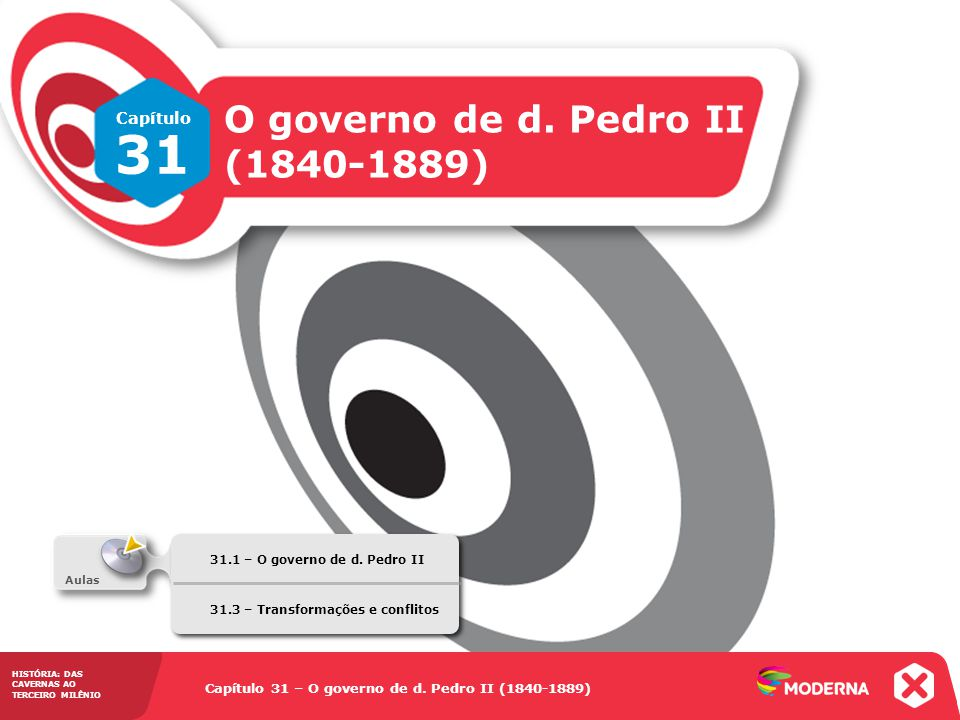 31 O governo de d. Pedro II (1840-1889) Capítulo