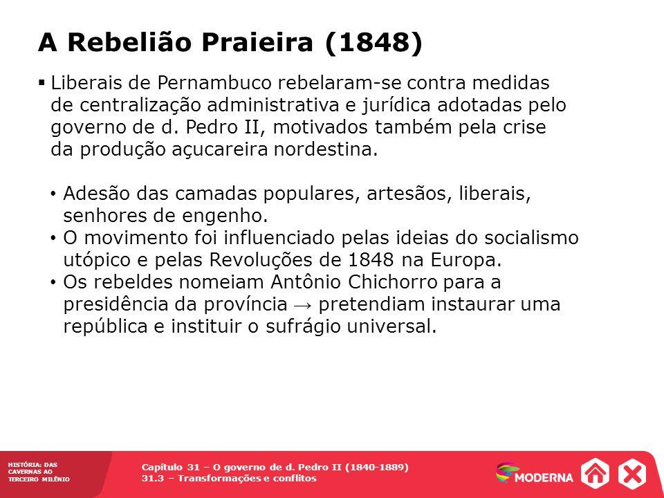 A Rebelião Praieira (1848)
