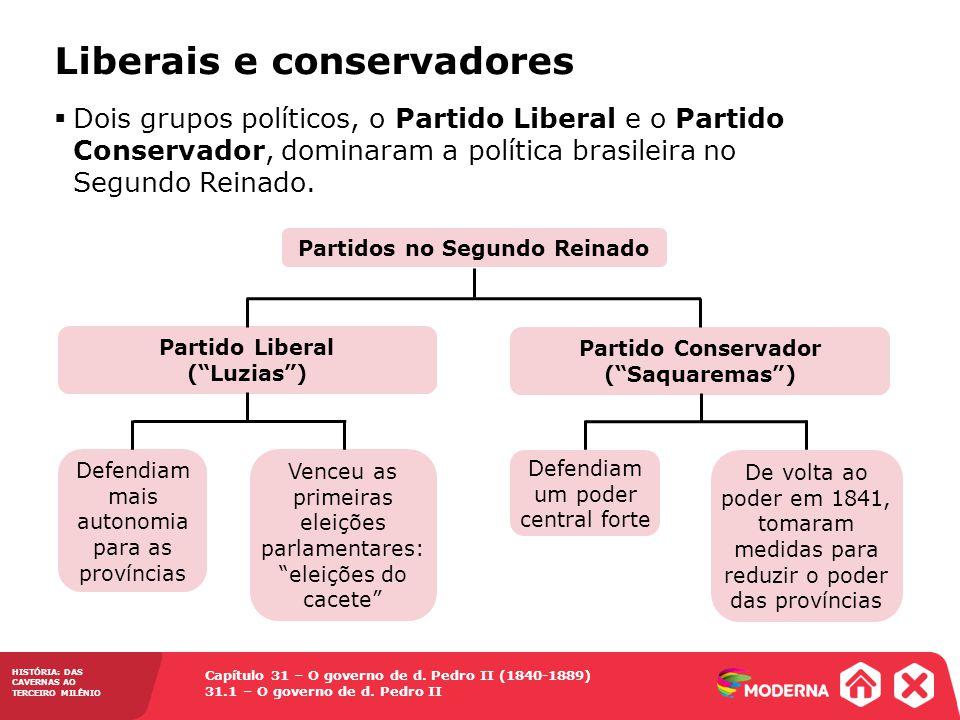 Liberais e conservadores