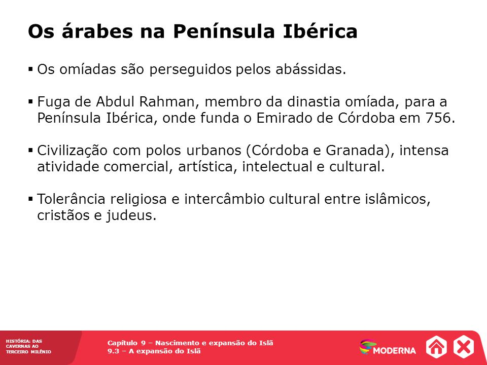 Os árabes na Península Ibérica