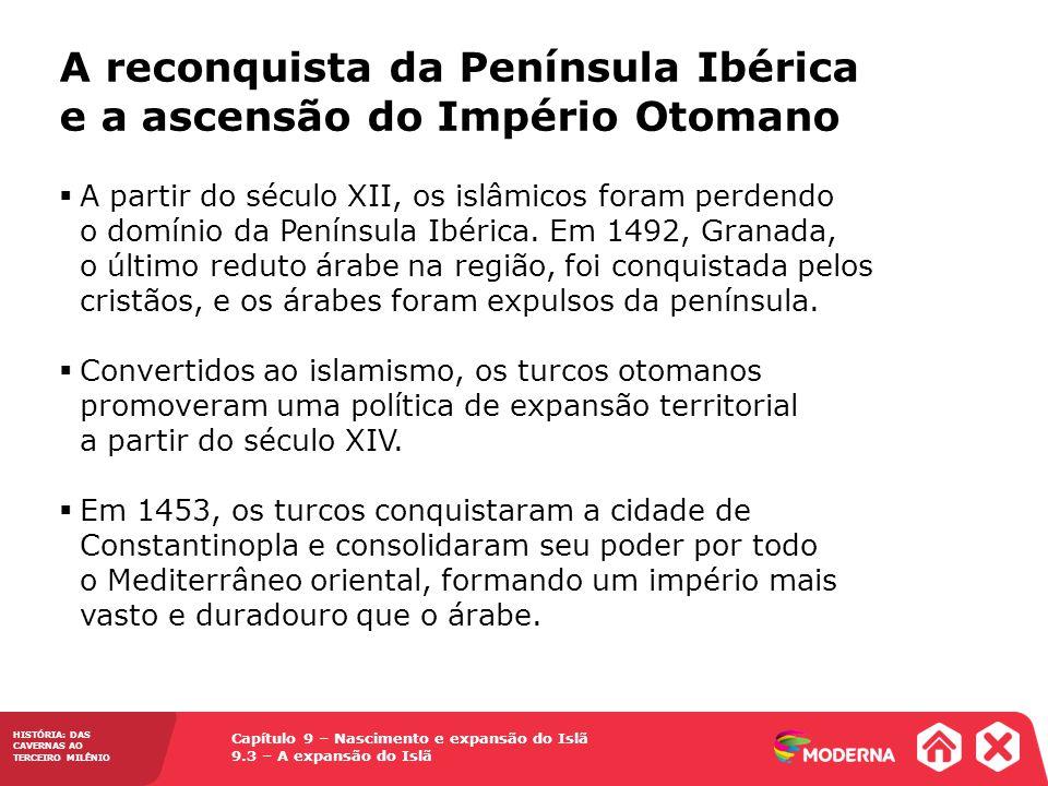 A reconquista da Península Ibérica e a ascensão do Império Otomano