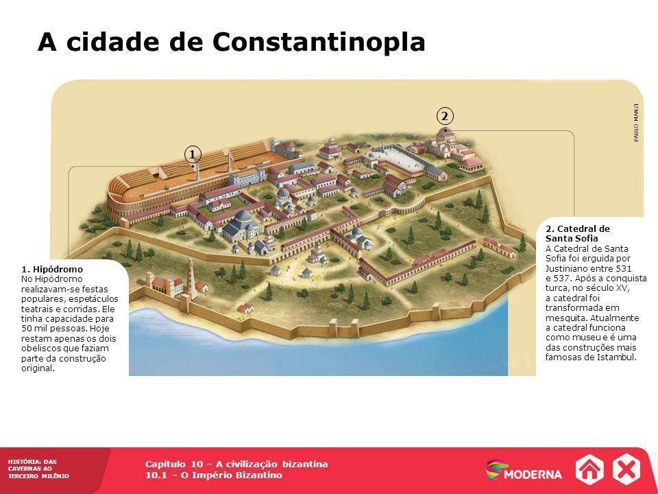 A cidade de Constantinopla