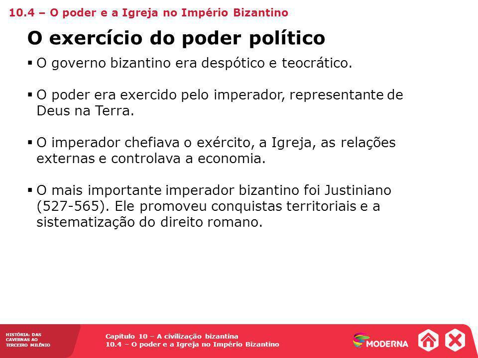O exercício do poder político