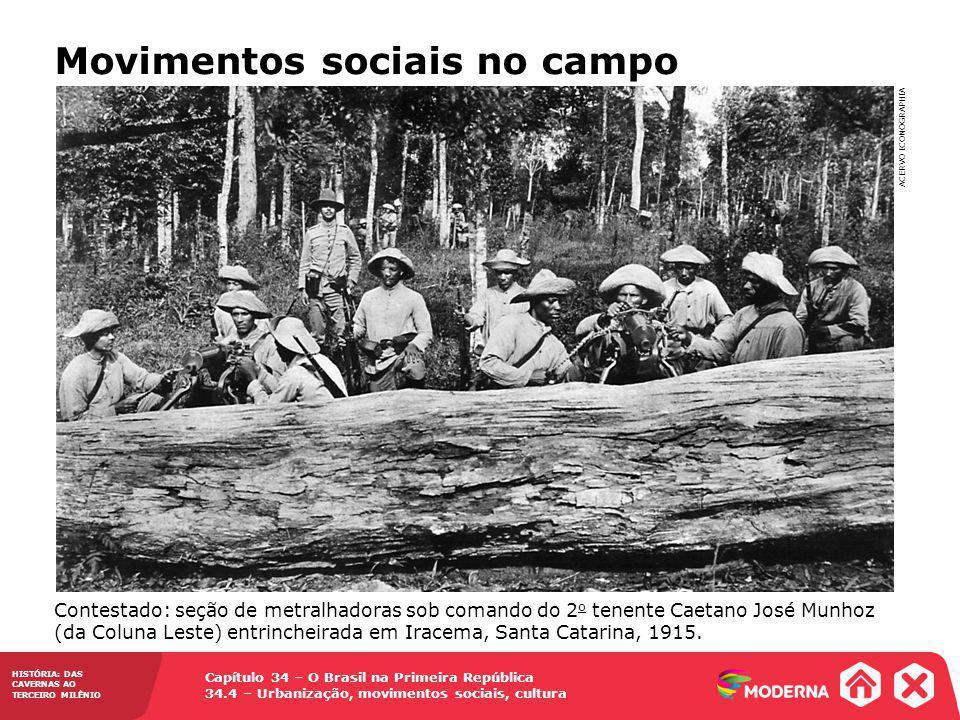 Movimentos sociais no campo