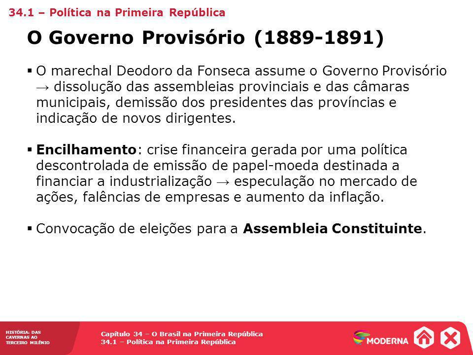 O Governo Provisório (1889-1891)