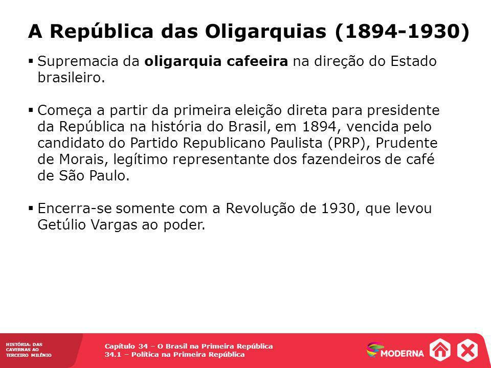 A República das Oligarquias (1894-1930)