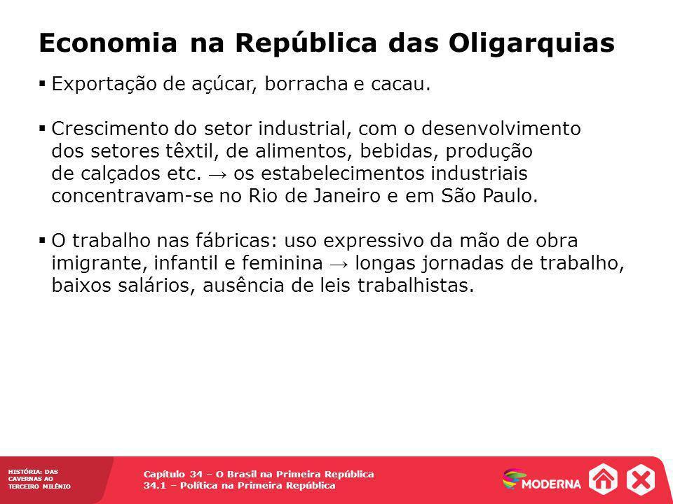 Economia na República das Oligarquias