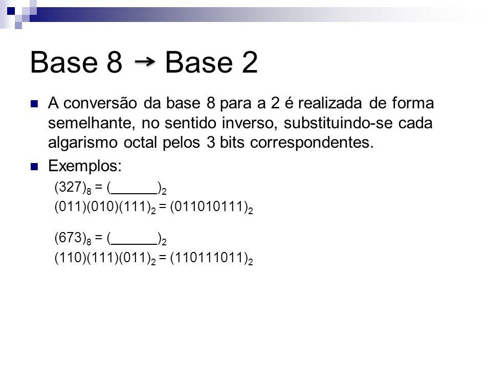 Base 8 Base 2