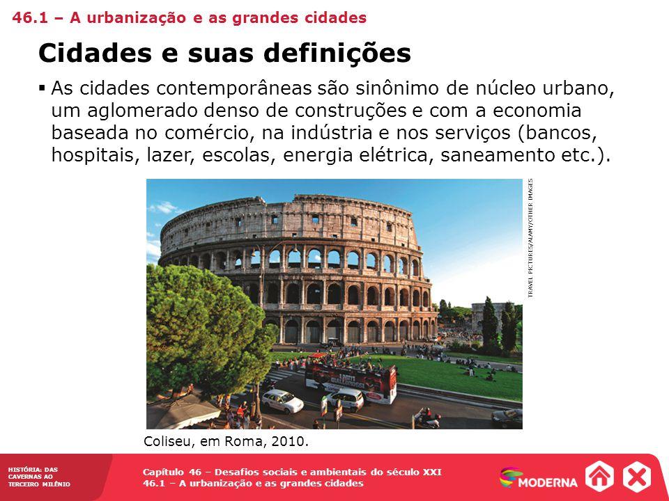 Cidades e suas definições