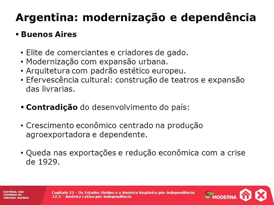 Argentina: modernização e dependência