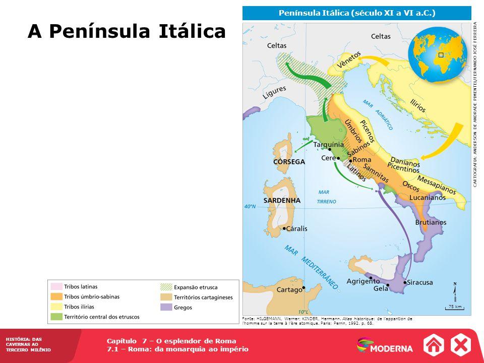 Península Itálica (século XI a VI a.C.)