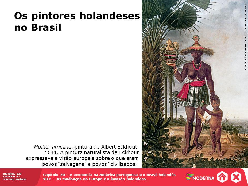 Os pintores holandeses no Brasil