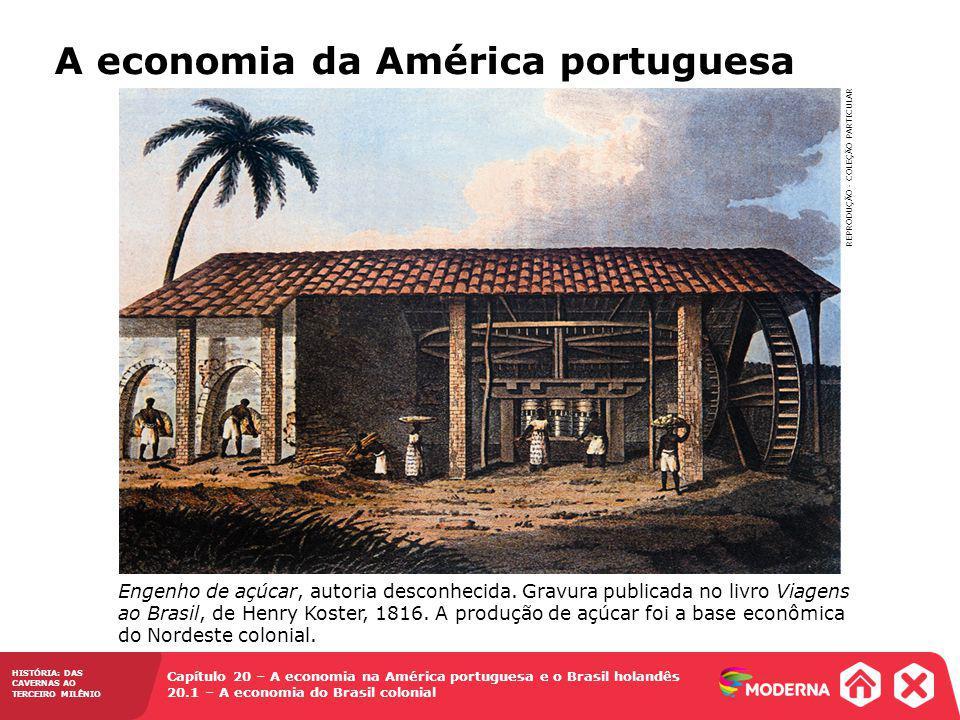 A economia da América portuguesa