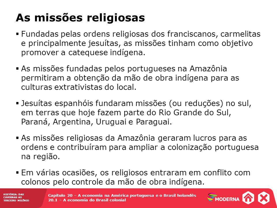 As missões religiosas