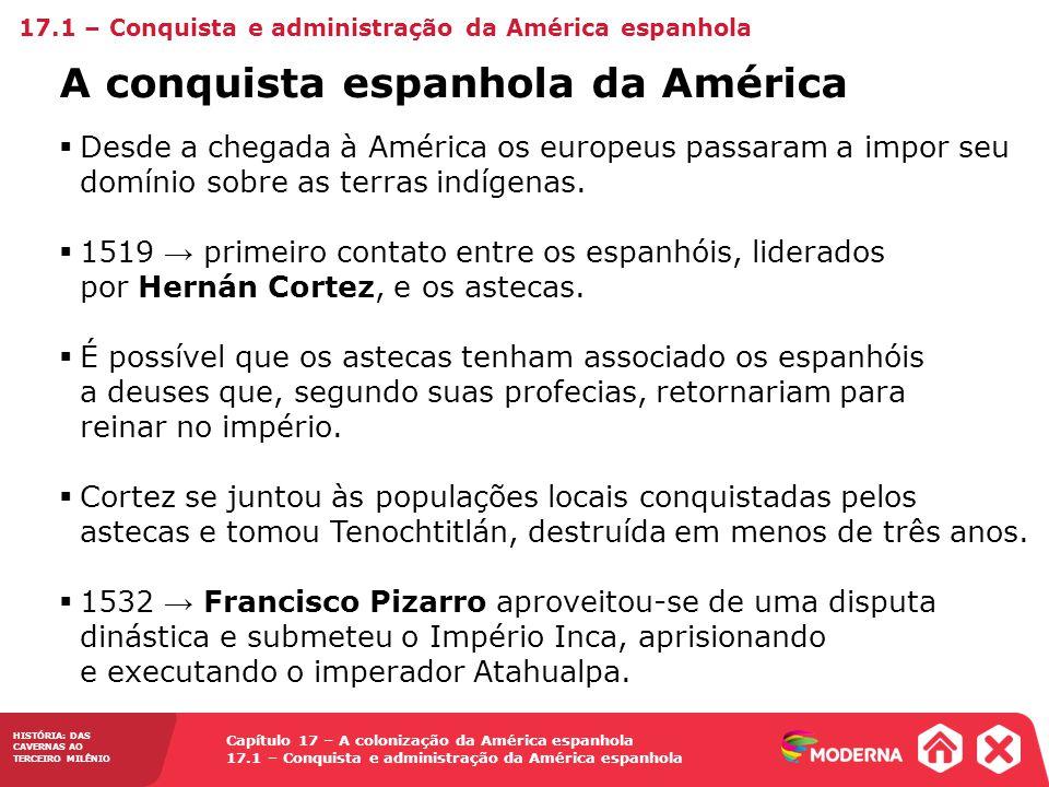 A conquista espanhola da América