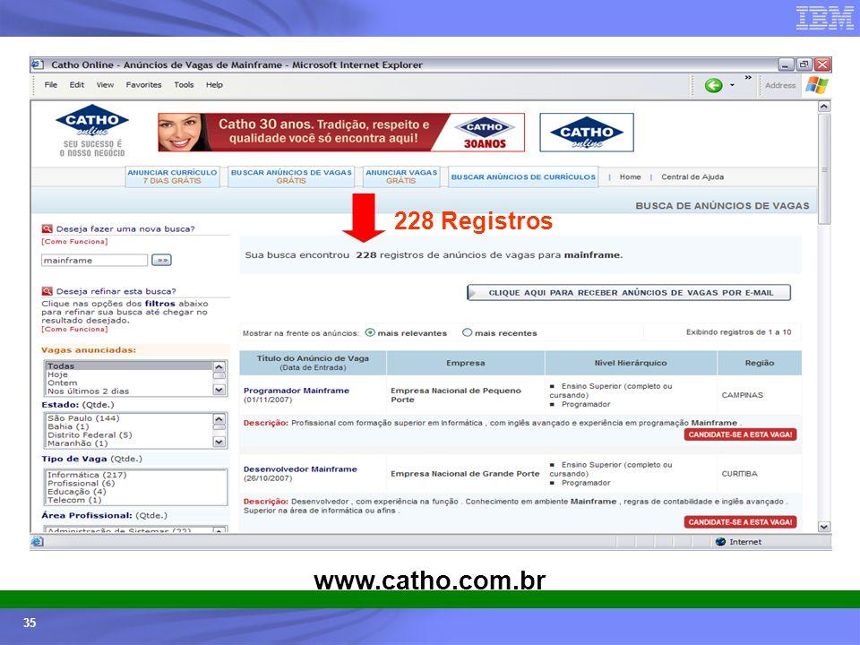 228 Registros www.catho.com.br