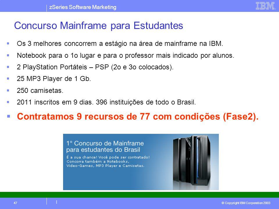 Concurso Mainframe para Estudantes