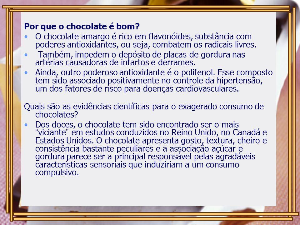 Por que o chocolate é bom