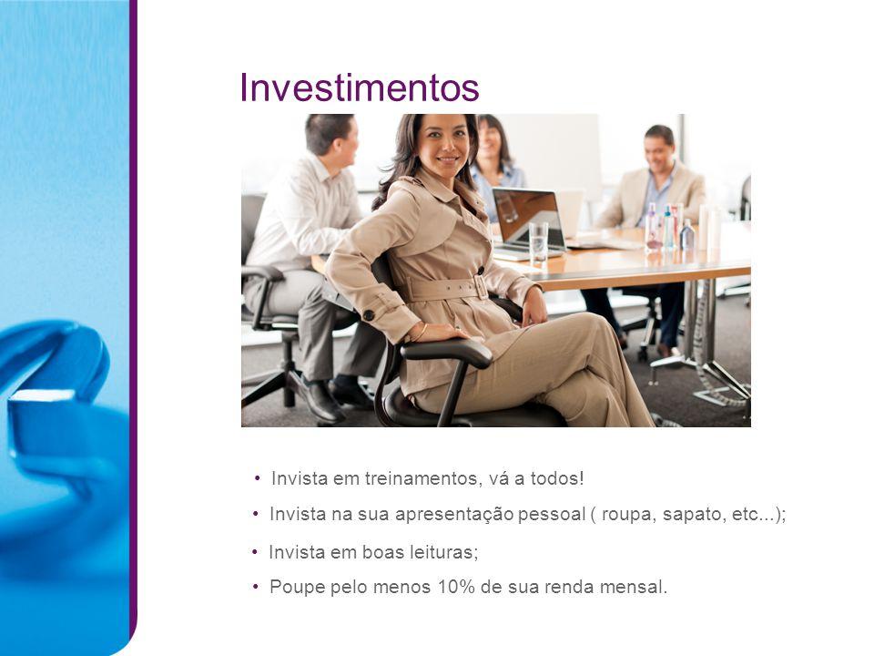 Investimentos Invista em treinamentos, vá a todos!