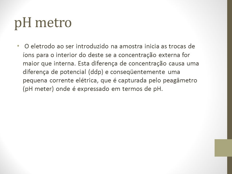 pH metro