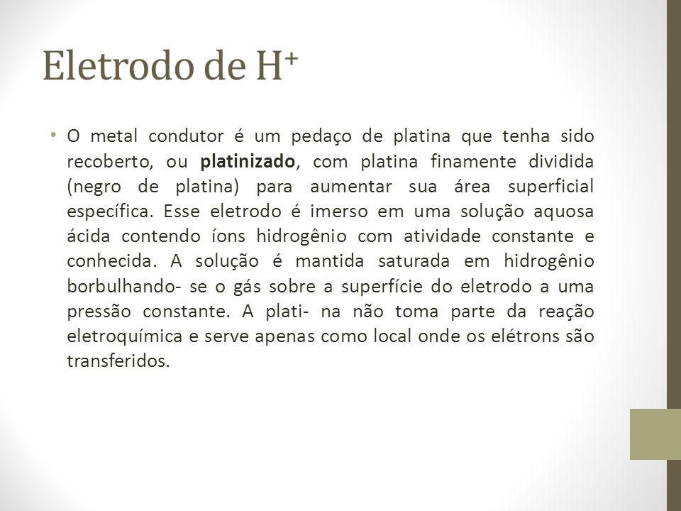 Eletrodo de H+