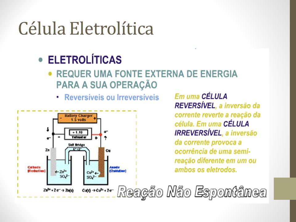 Célula Eletrolítica