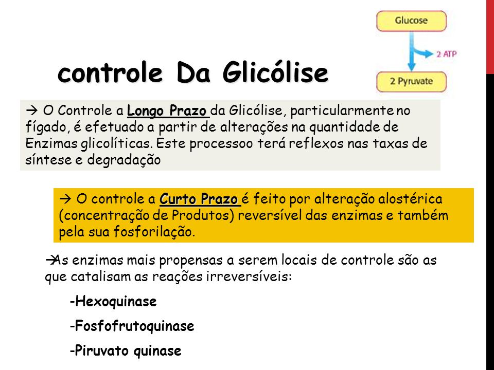 controle Da Glicólise